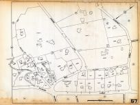 Plate 057, Belmont Assessor Plans 1931